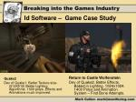 id software game case study2