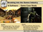id software game case study3