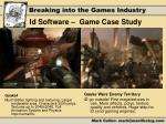 id software game case study4