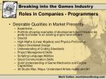 roles in companies programmers1