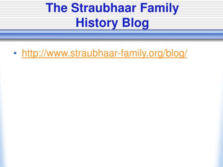 The Straubhaar Family