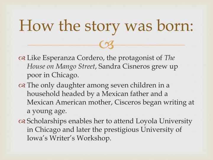 sandra cisneros only daughter summary