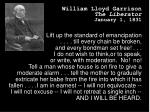 william lloyd garrison the liberator january 1 1831