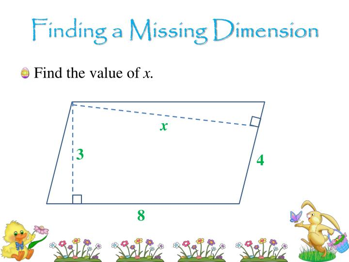 Finding a Missing Dimension