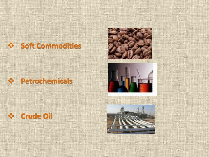 Soft Commodities