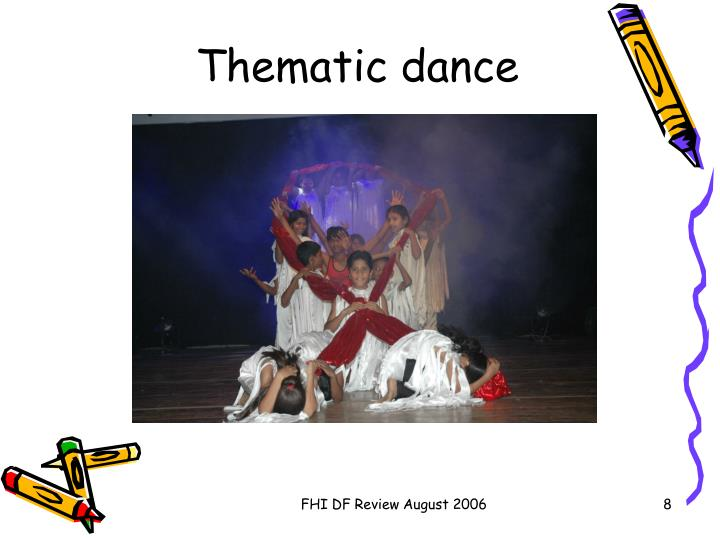 Thematic dance