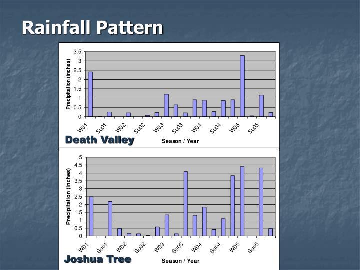 Rainfall Pattern