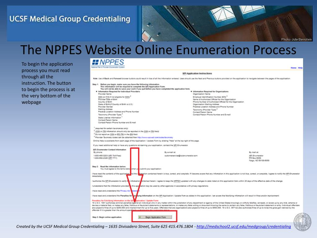 PPT - NPI Application Process for Dermatology PowerPoint