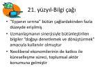 21 y zy l bilgi a