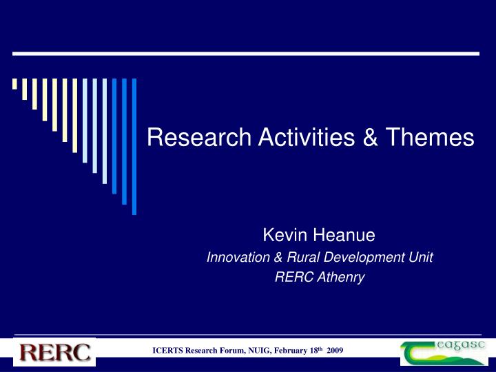 research activities themes n.