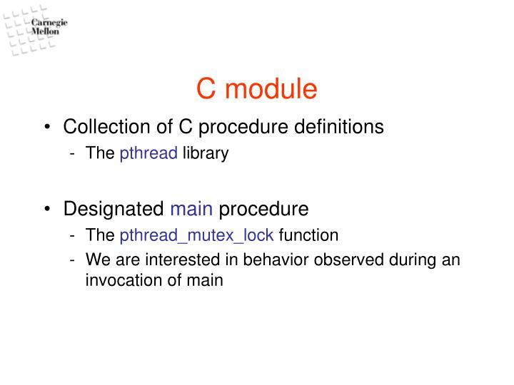 C module