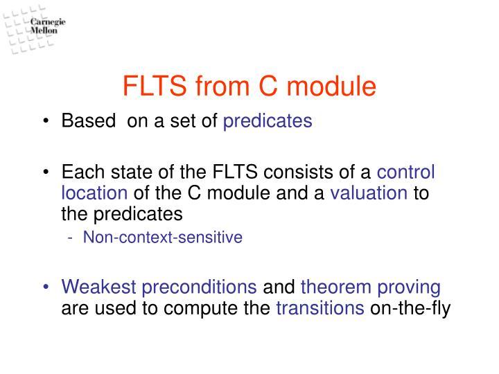 FLTS from C module