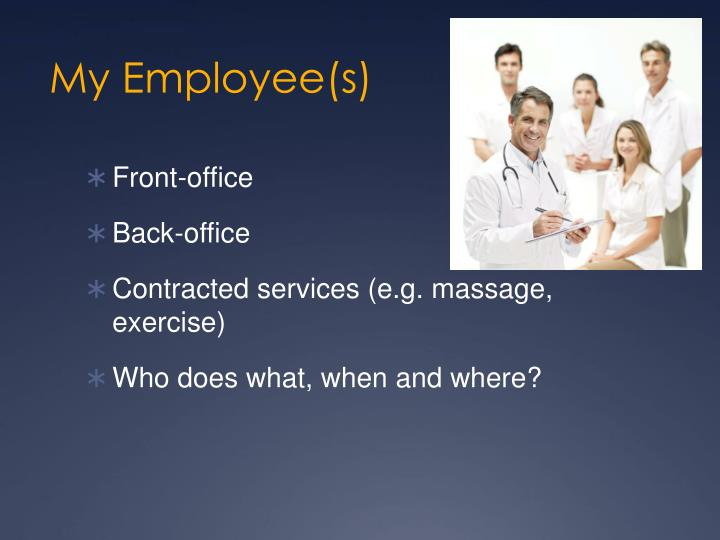 My Employee(s)