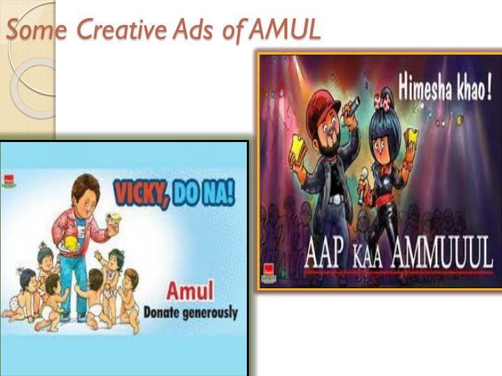 Some Creative Ads of AMUL