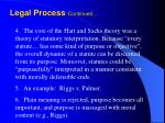 legal process continued1