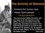the activity of demons1