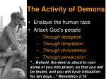 the activity of demons2