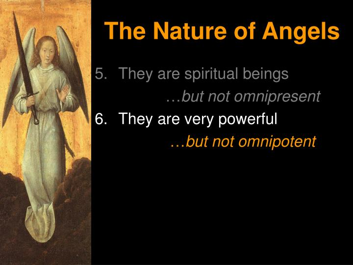 The Nature of Angels