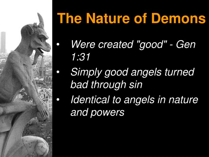The Nature of Demons