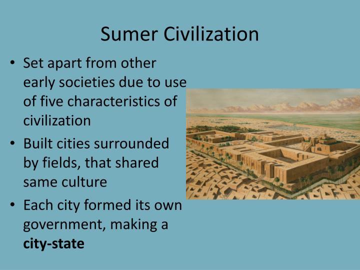 Sumer Civilization