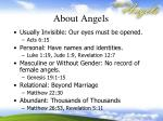 about angels1