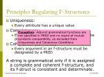 principles regulating f structures4