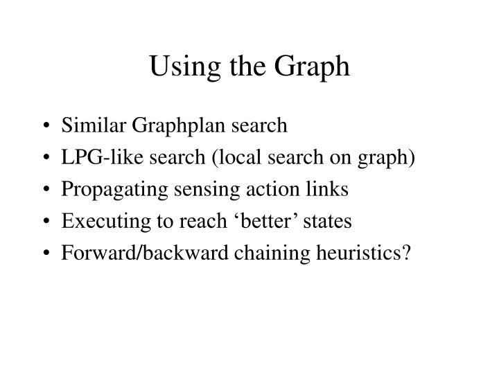 Using the Graph