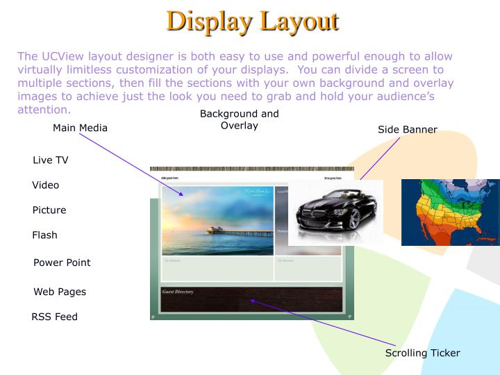Display Layout