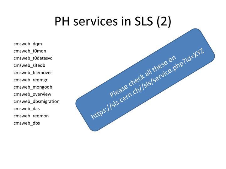 PH services in SLS (2)