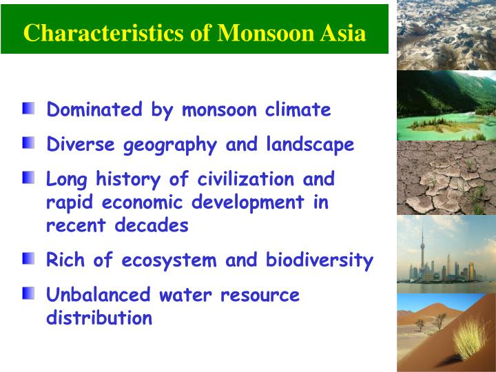 characteristics of monsoon