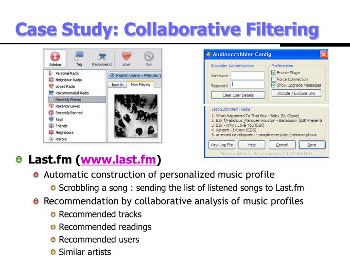 Case Study: Collaborative Filtering