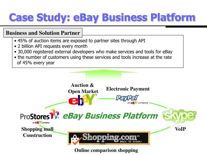 Case Study: eBay Business Platform