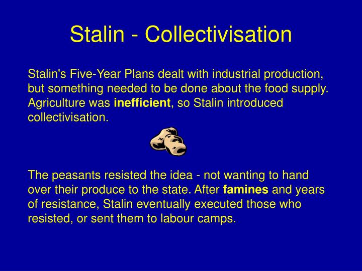 Stalin - Collectivisation