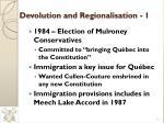 devolution and regionalisation 1