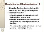 devolution and regionalisation 3