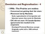 devolution and regionalisation 4