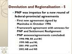 devolution and regionalisation 5