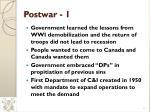 postwar 1