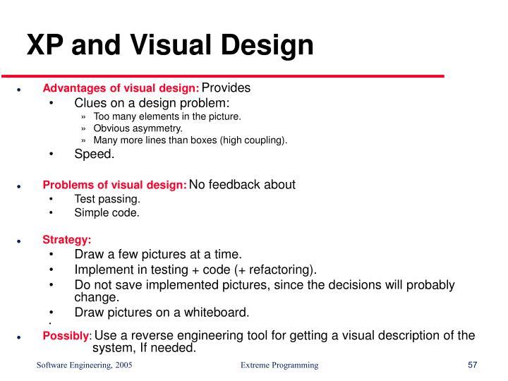 XP and Visual Design