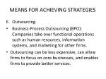 means for achieving strategies6