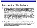 introduction the problem
