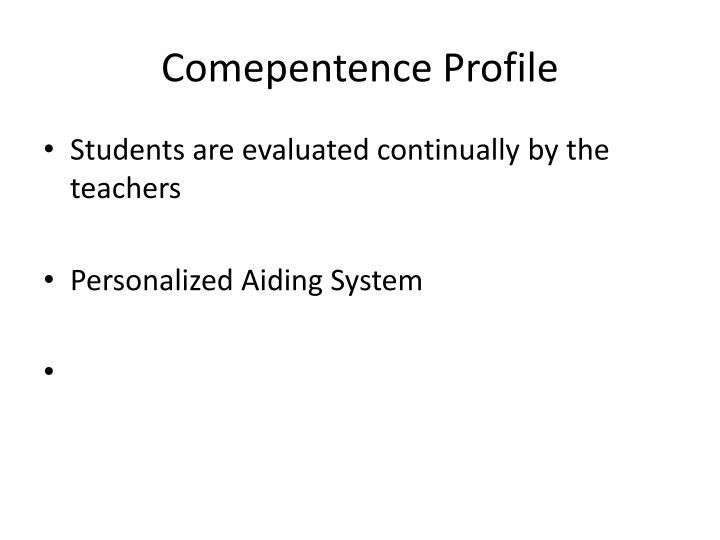 Comepentence Profile