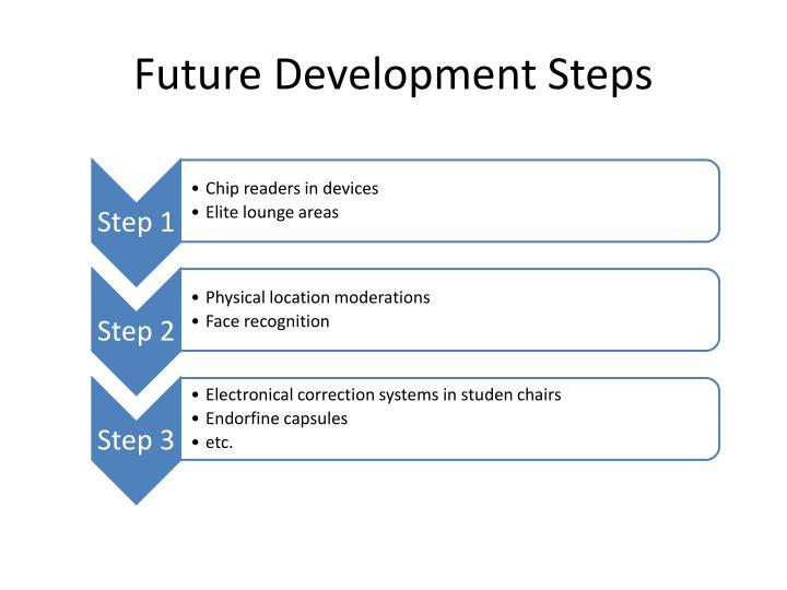 Future Development Steps