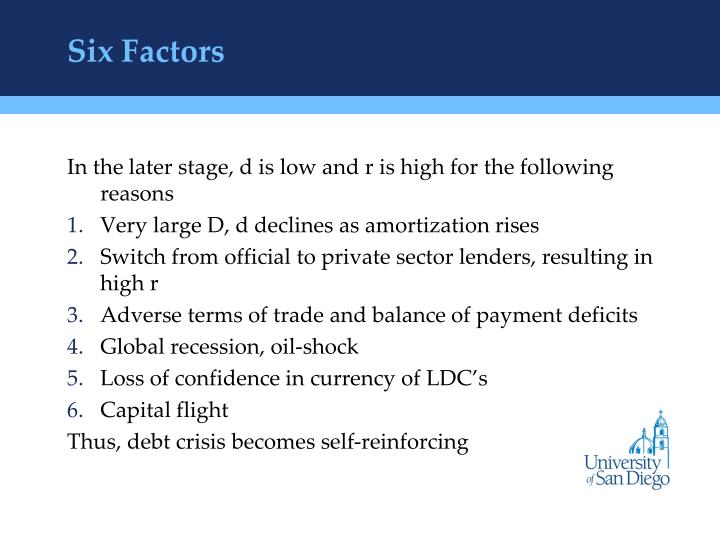 Six Factors