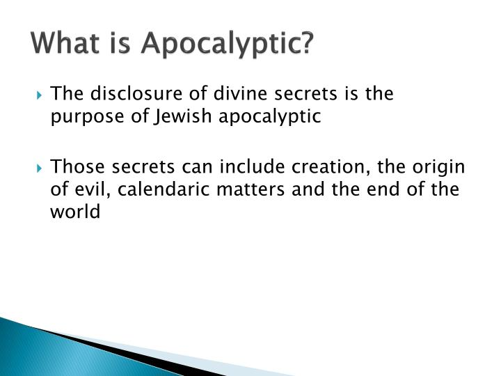 What is Apocalyptic?