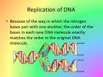replication of dna1