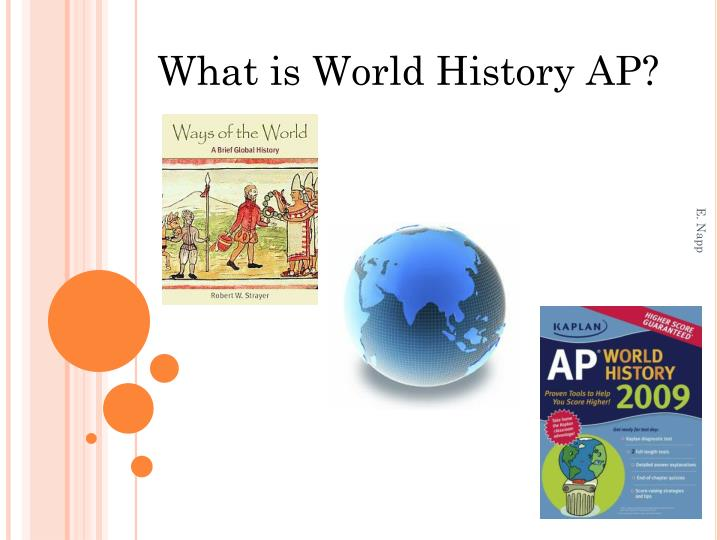 What is World History AP?