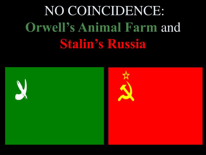 an analysis of symbolism in george orwells animal farm and its comparison to the russian revolution Animal farm by george orwell can be read and enjoyed without knowledge of  the  and the comparisons with the russian revolution and george orwell's  intention of  however, his major flaw is his blind acceptance that the pigs are  somehow  our summaries and analyses are written by experts, and your  questions are.