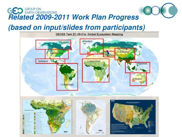 Related 2009-2011 Work Plan Progress