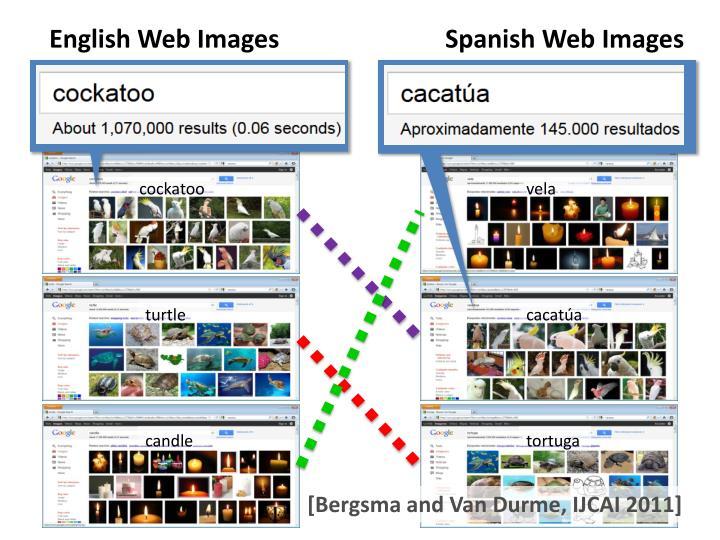 English Web Images